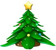 Cartoon Christmas Tree.Get Free Christmas Tree For Your Desktop