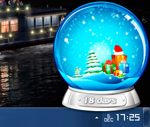 Screenshot of Christmas Globe 1.0