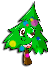 multicolors christmas tree - Animated Christmas Tree